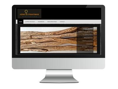 Design lampen van hout
