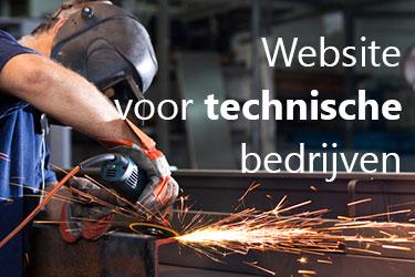 website voor technische bedrijven