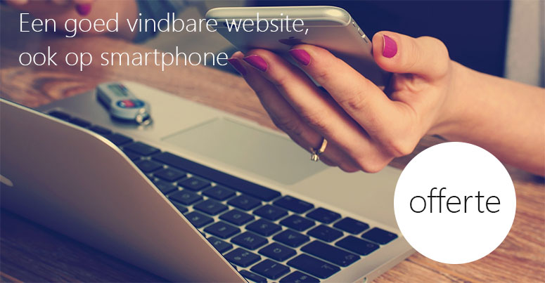 Offete betaalbare website, goed vindbaar in Google
