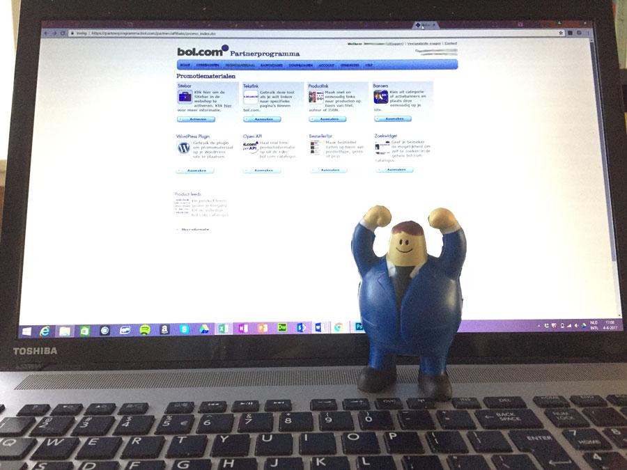 Geld verdienen met je website als partner van Bol.com