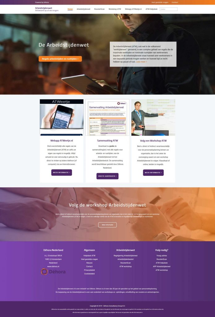 WordPress website restyling